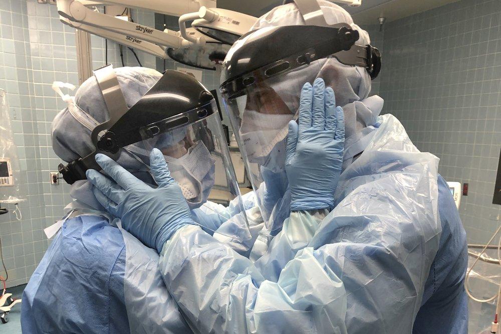 Husband and wife nurse couple unite to fight virus