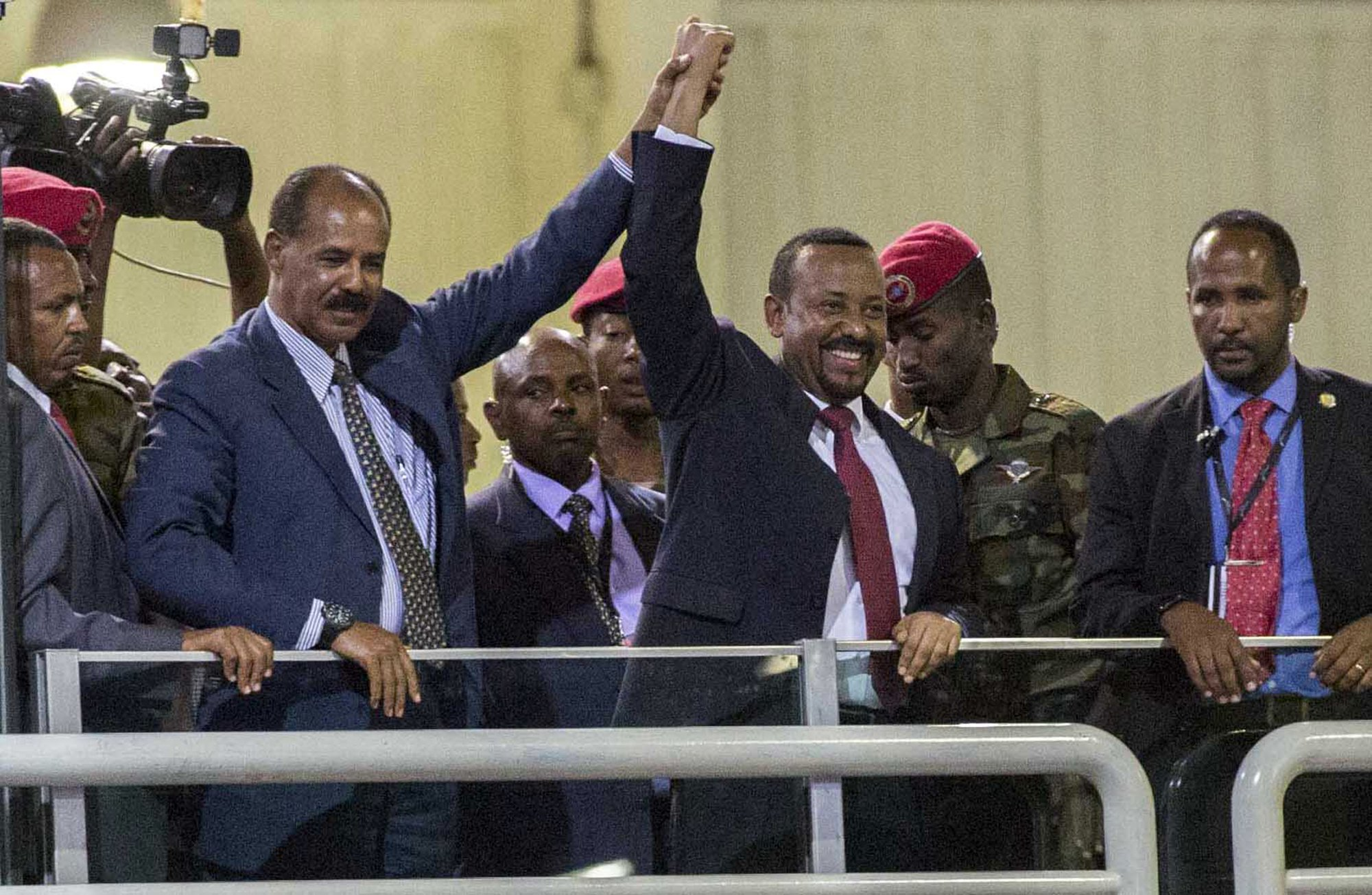 A look at the Ethiopia-Eritrea war whose end brought a Nobel