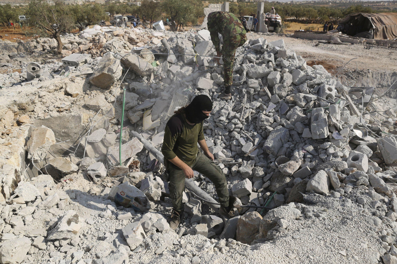 <b>In last days, al-Baghdadi sought safety in shrinking domain</b>
