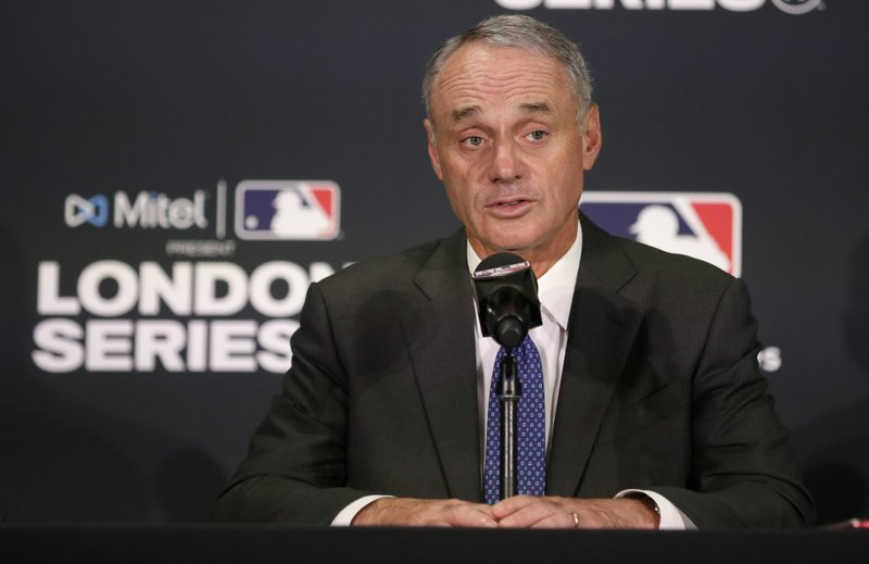 Mlb The Show Release Date 2020.Mlb Scraps 2020 Asia Opener Manfred Eyes More Europe Games