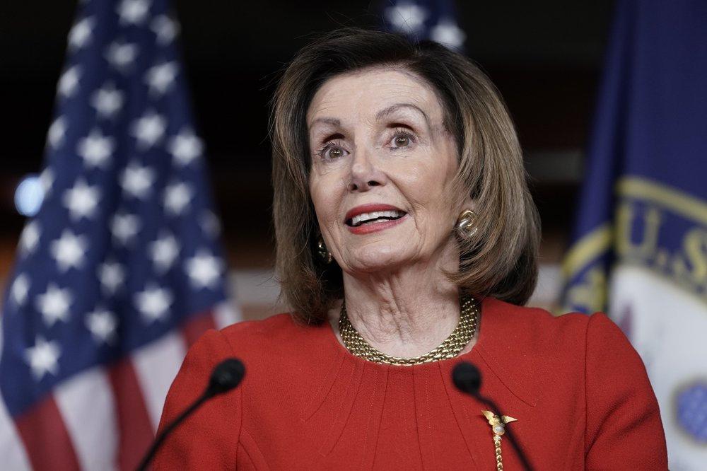 Pelosi says impeachment leaves 'spring' in people's step