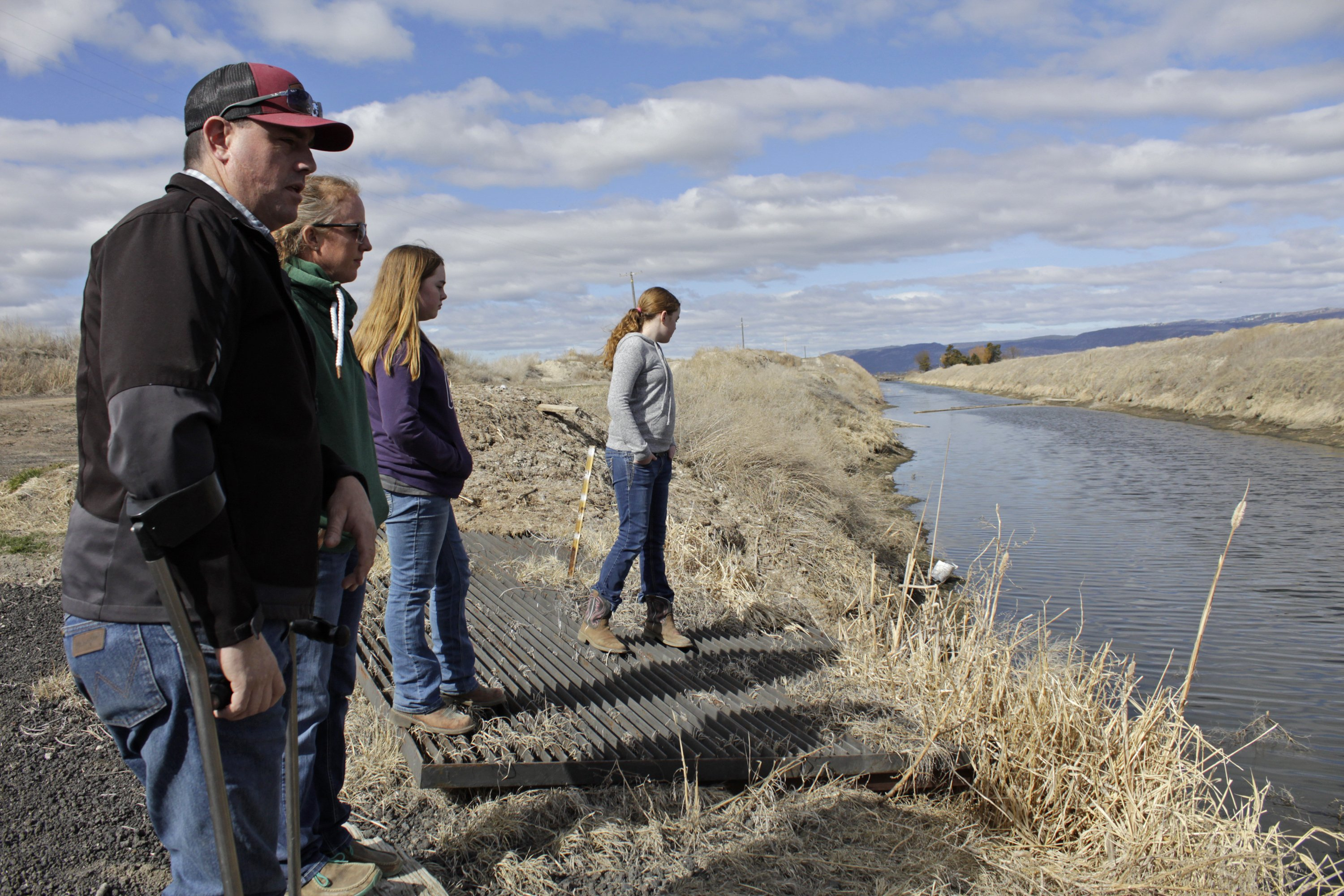 An epic drought means a water crisis at the Oregon-California border