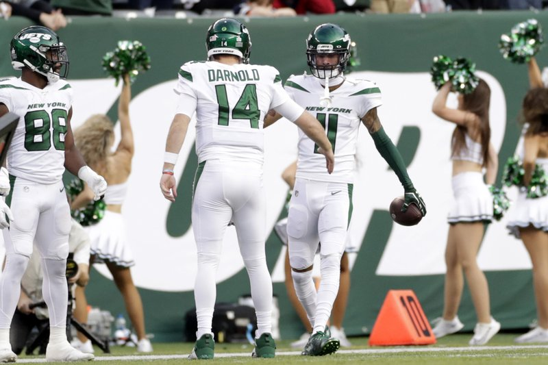 Darnold Throws 2 Tds In Return Jets Edge Cowboys 24 22