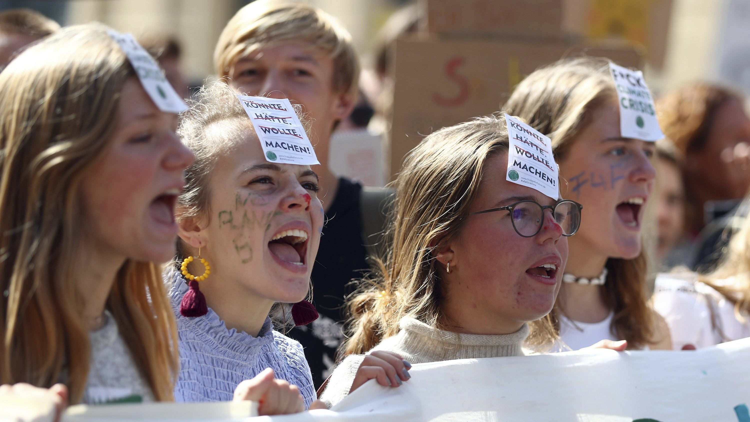 Young people lead global climate change protests