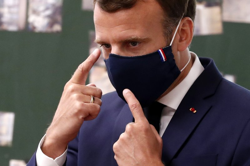 France S Macron Makes Mask Wearing An Act Of National Pride