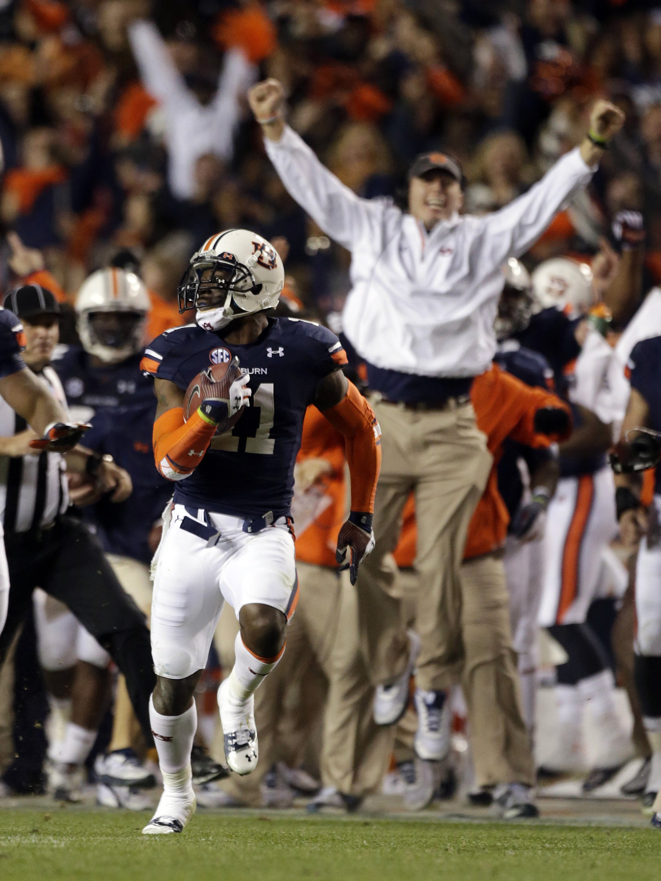 Iron Bowl Kick Six Still Fresh For Alabama Auburn