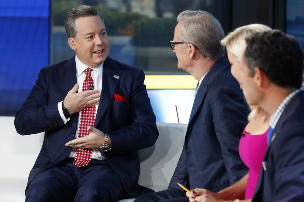 Fox News daytime news anchor Ed Henry is fired after sexual misconduct allegation points to him