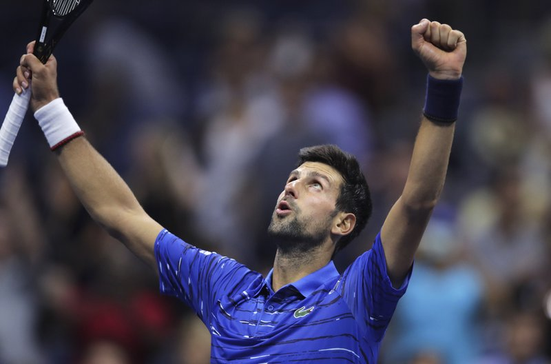 Djokovic Plays Almost Pain Free To Reach Us Open S 4th Rd