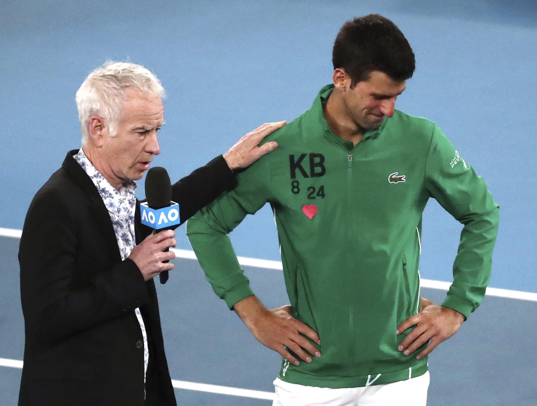 The Latest Djokovic Heartbroken After Kobe Bryant S Death