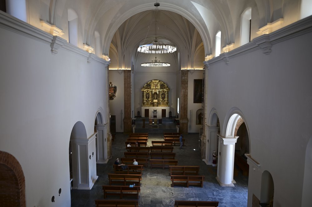 The San Jose Church the second oldest surviving Spanish church in the Americas to reopen after detailed restoration