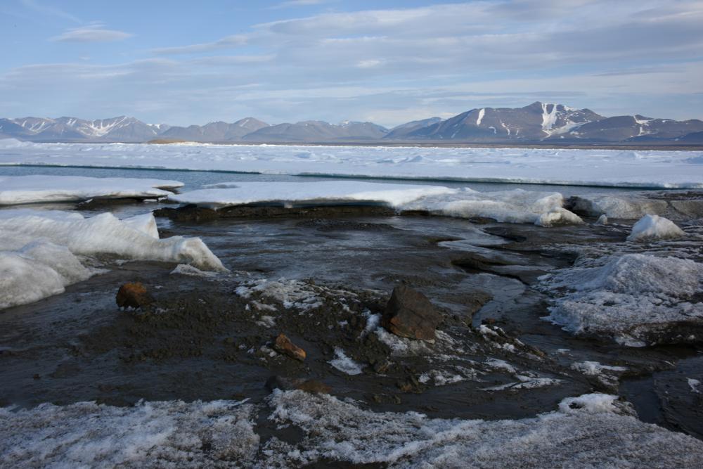 Foto de la isla que científicos consideran la más norteña del mundo, frente a las costas de Groenlandia. Foto facilitada por Morten Rasch el 28 de agosto del 2021. (Morten Rasch via AP)