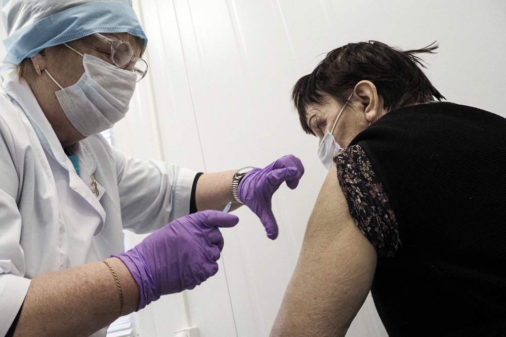 Russia's COVID-19 vaccination drive picking up speed