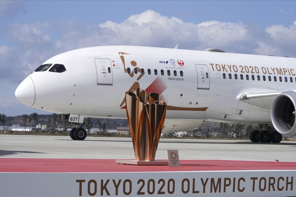 3.The Olympic flame completed its journey from Greece to Japan; doubts grow over Tokyo Games