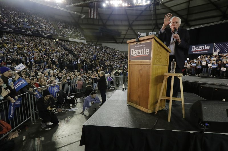 Image result for sanders tacoma dome