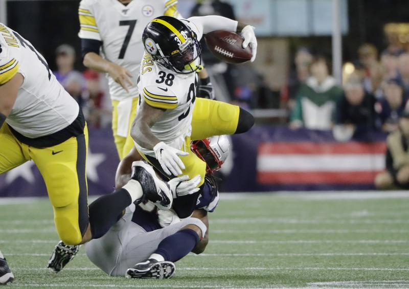 Antonio Brown Steelers >> Steelers Struggle Without Antonio Brown Le Veon Bell