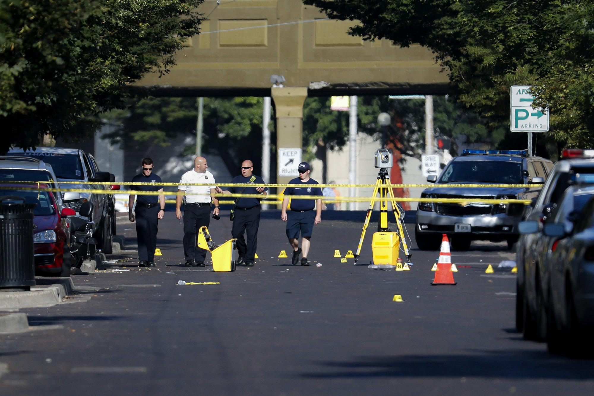 The Latest Senator Says Prayers Not Enough After Shooting