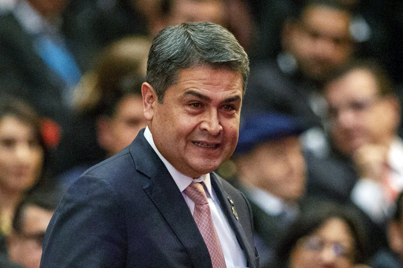 Drug trafficker testifies he bribed Honduras president Juan Orlando Hernández