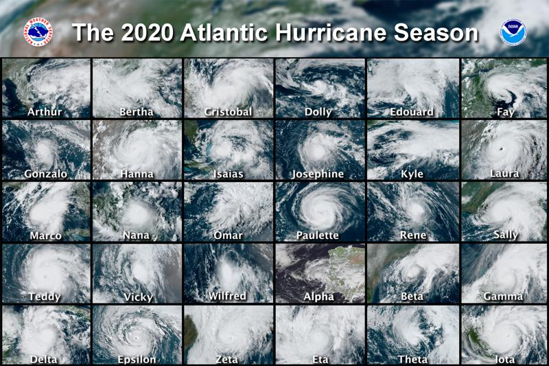 Experts Predict Busy Atlantic Storm Season but Not Like 2020