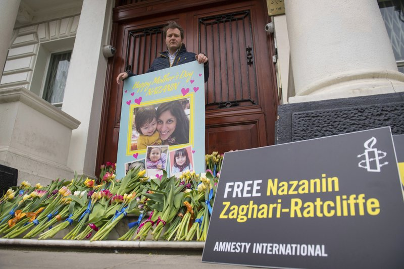 British-Iranian Nazanin Zaghari-Ratcliffe ends 5-year sentence on spying charges, but cannot yet return to home to London