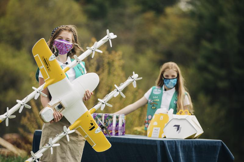 Google using drones to deliver Girl Scout cookies