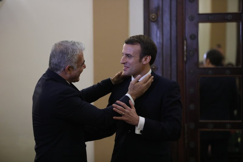 Macron Grows Angry With Israeli Security During Church Visit