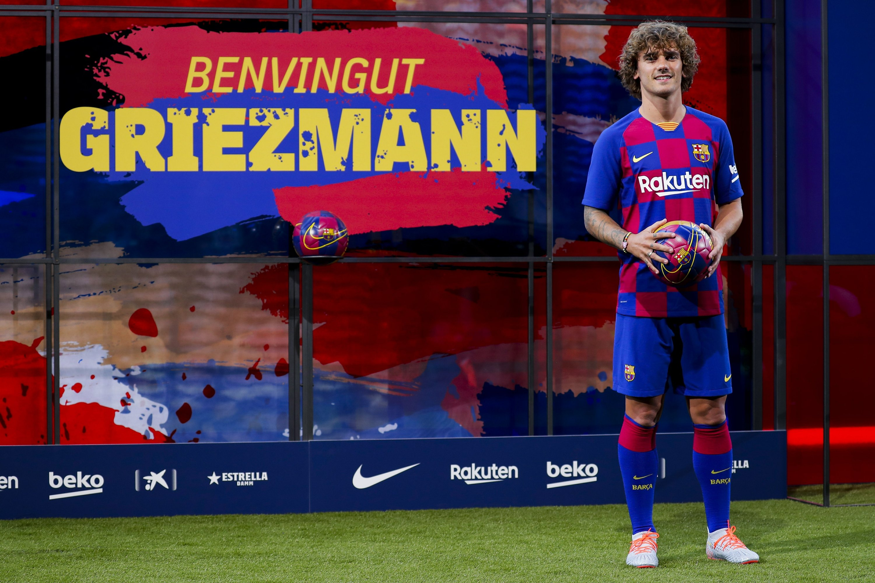 low priced c9274 74574 Griezmann thanks Barcelona for 'another chance' to join club