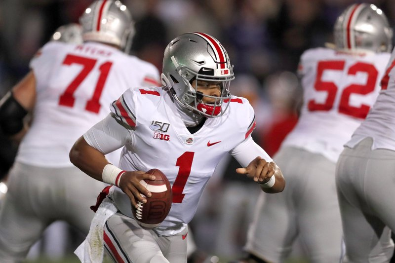 Ap Top 25 Ohio State Jumps Clemson To 3rd Wisconsin Falls