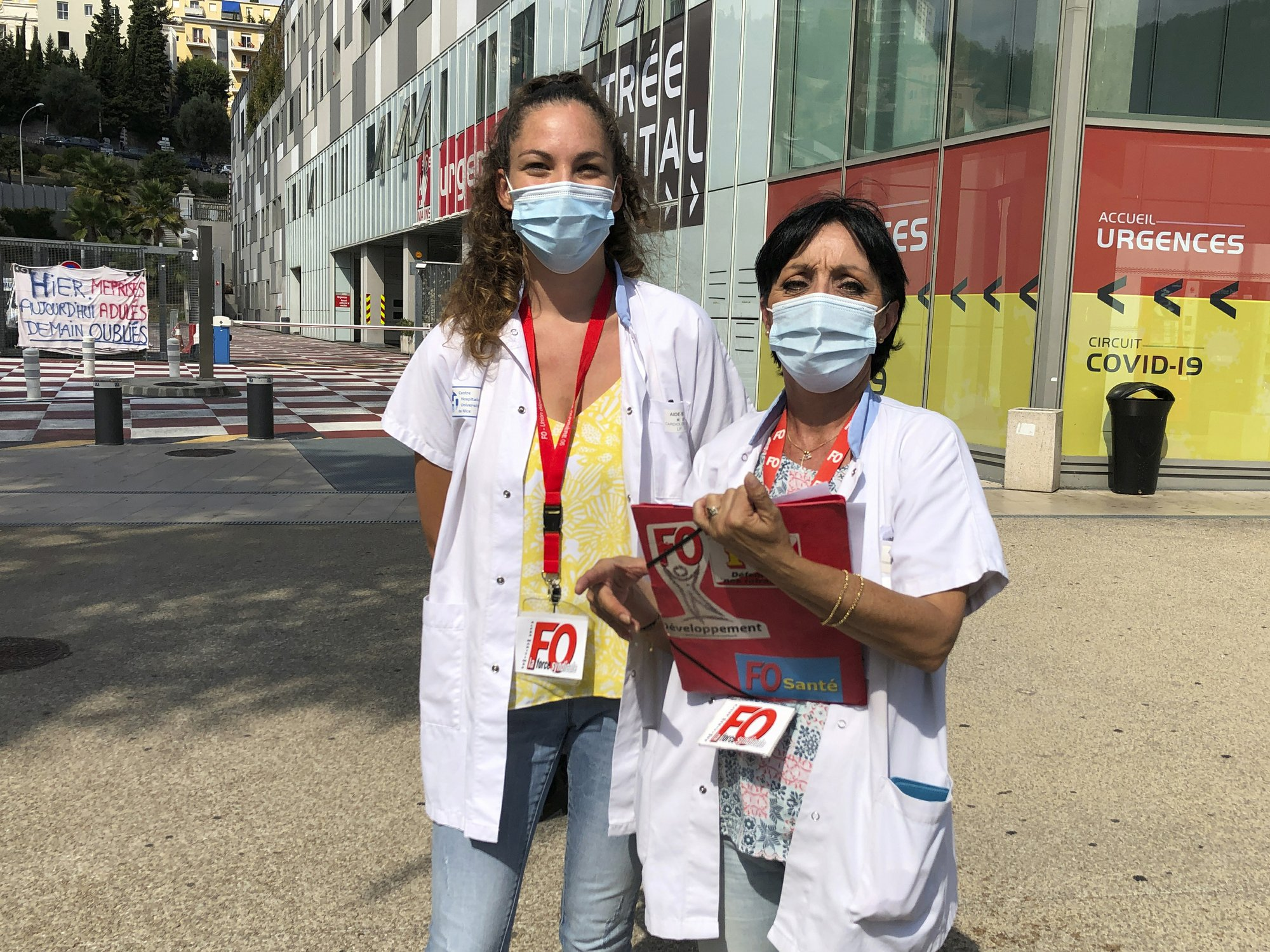 For Health Workers The Pandemic Tour De France Is A Big Ask