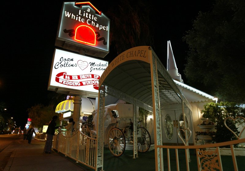 Iconic Las Vegas Wedding Chapel Is No Longer Up For Sale