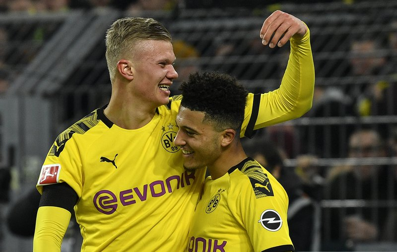 Haaland And Sancho Shaping Dortmund S Young And Hungry Team