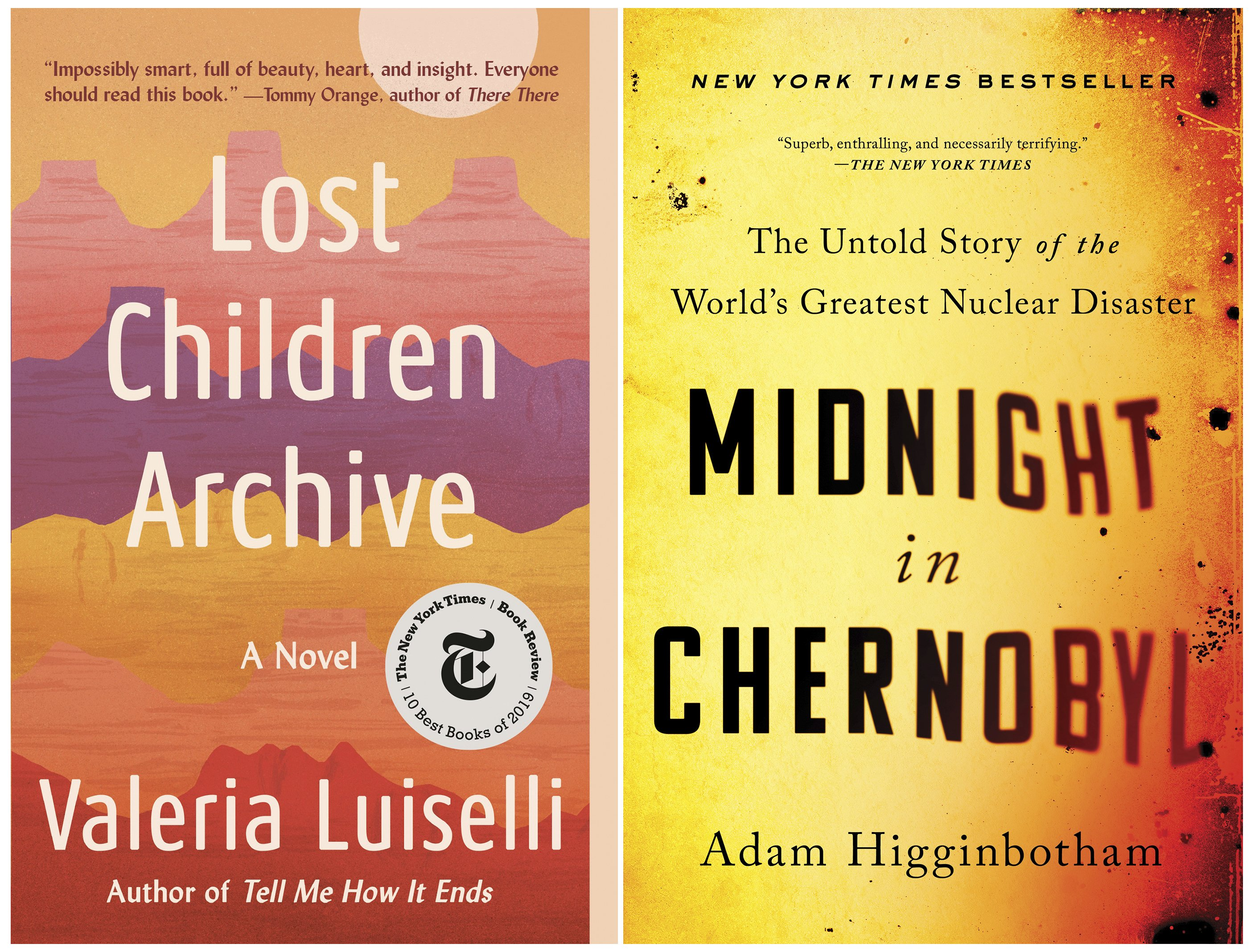 Librarians honor books by Luiselli and Higginbotham