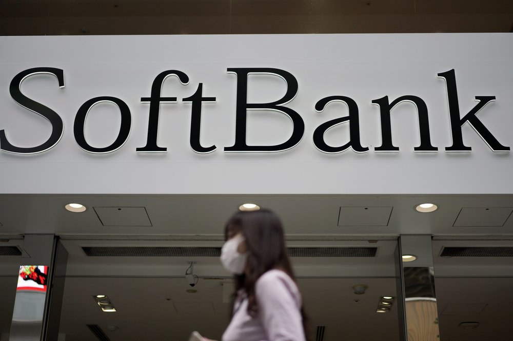 Japanese technology company SoftBank Group Corp. racked up a loss of 961.6 billion yen ( billion) for the fiscal year through March