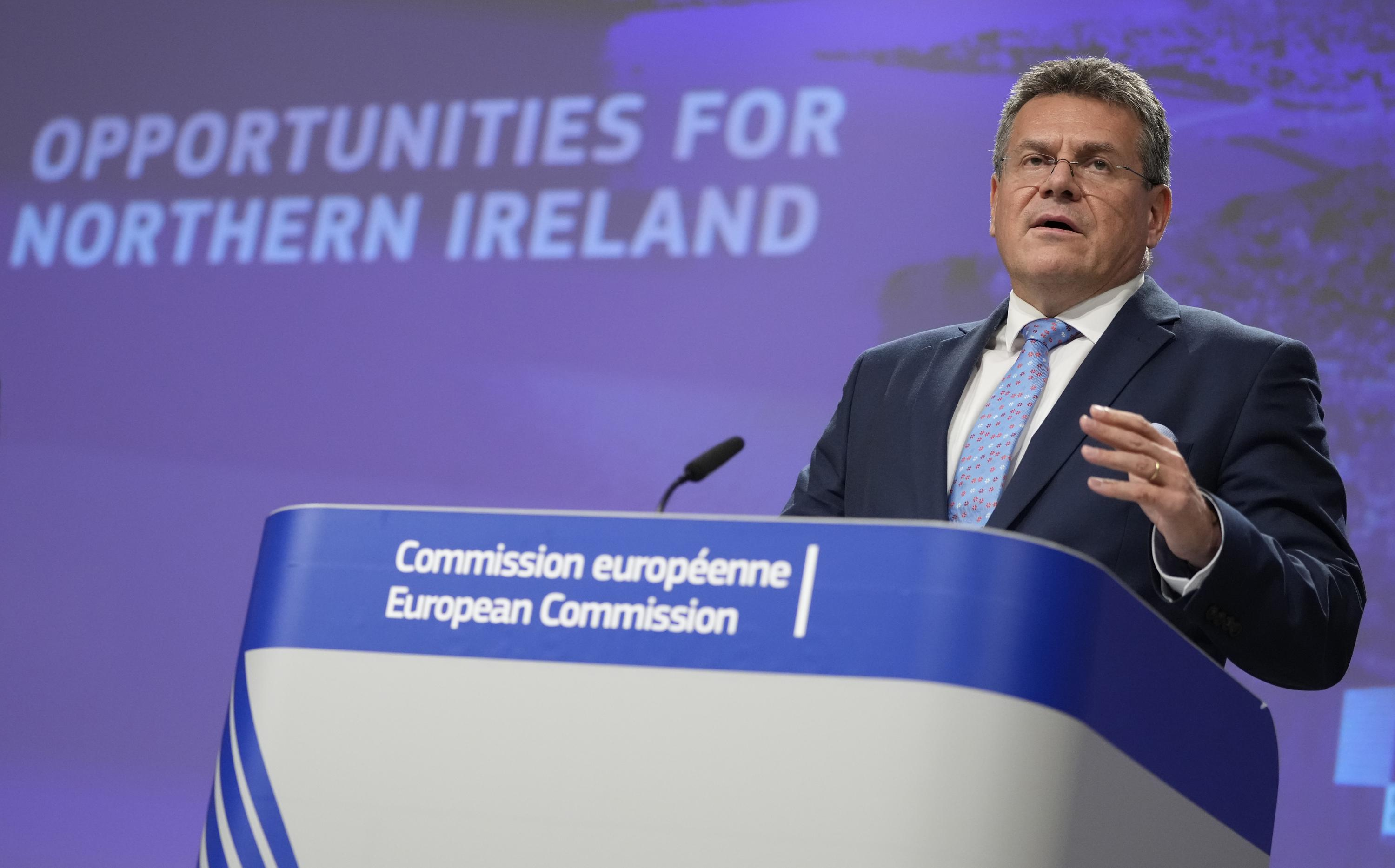 Great Brexit brawl: EU offers to improve N Ireland deal