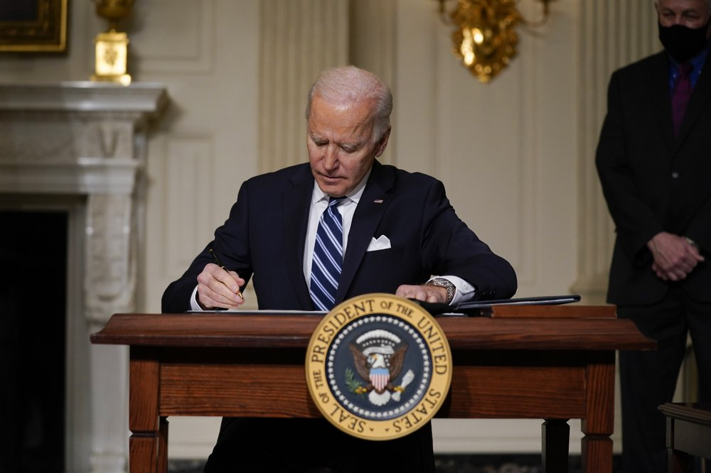 President Biden signs executive order addressing climate crisis