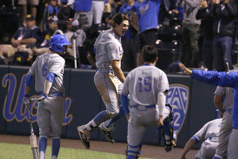 UCLA rallies to beat Michigan in 12 innings