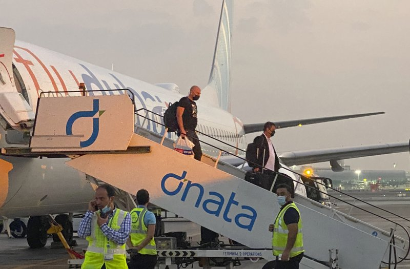 First plane with Israeli tourists lands in UAE after normalization deal