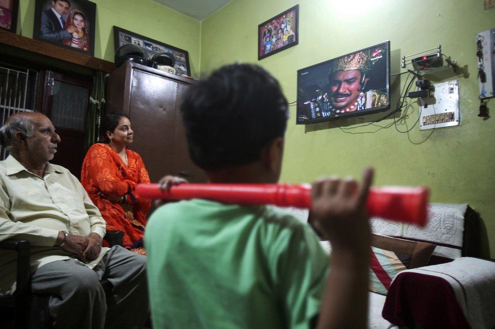 Indians on lockdown are devouring reruns of popular Hindu religious dramas