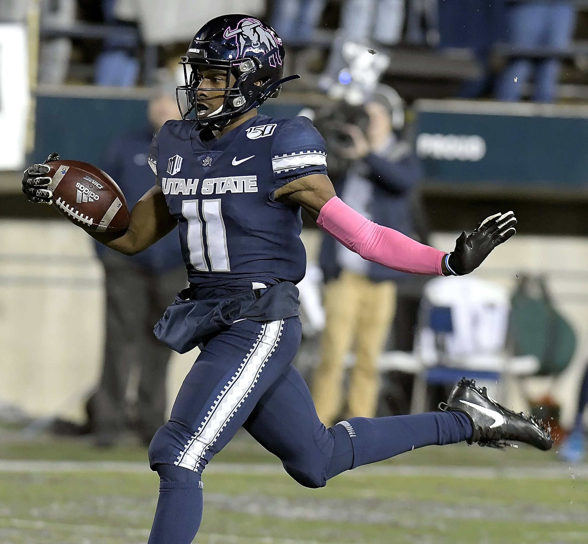 STAT WATCH: Kick to Utah State's Scarver at your own risk