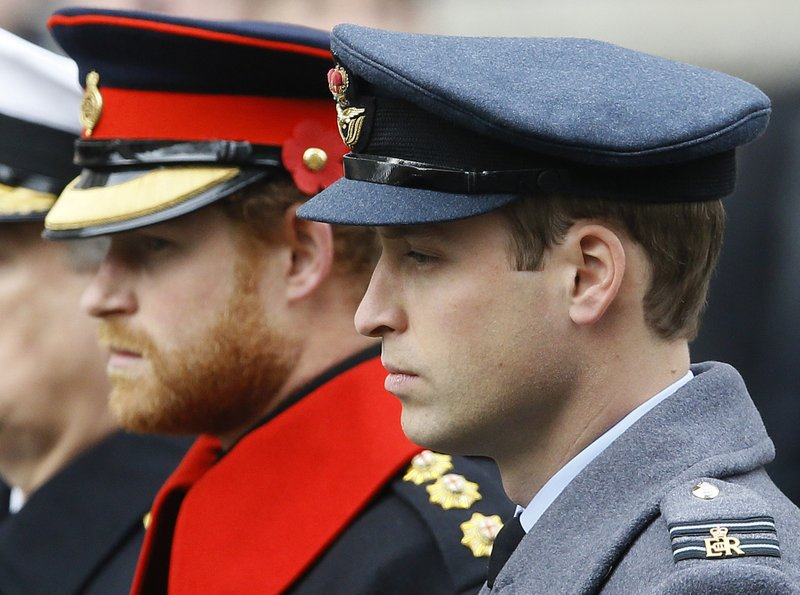 Princes William and Prince Harry won't walk side-by-side at Prince Philips' funeral
