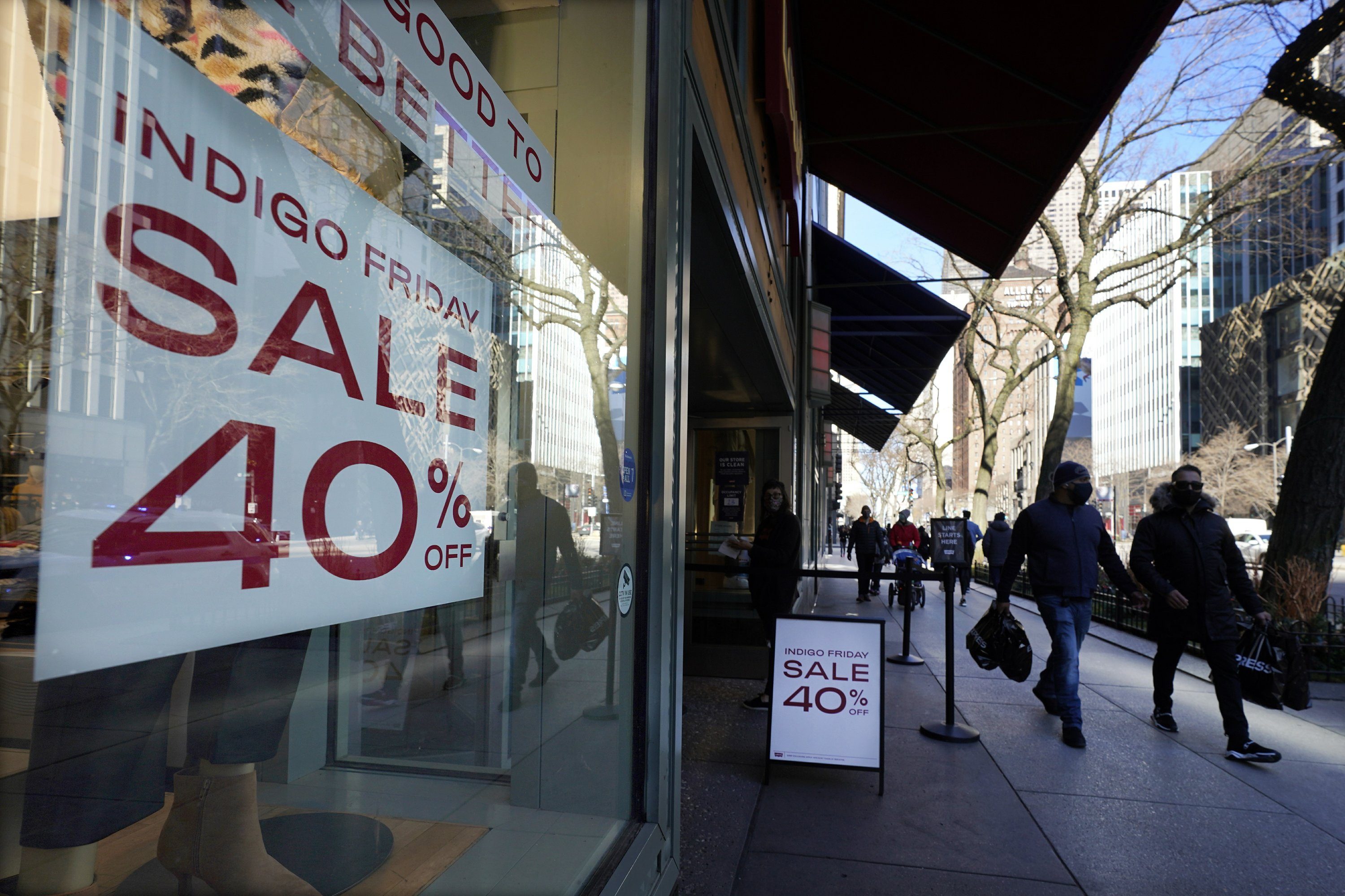 Black Friday sees record online as US shoppers stay home