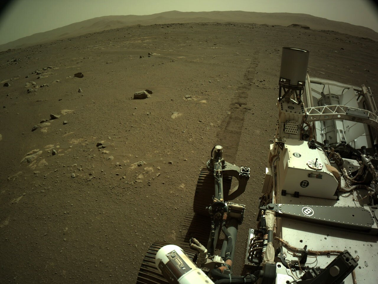 Mars rover sends back grinding squealing sounds of driving – Associated Press