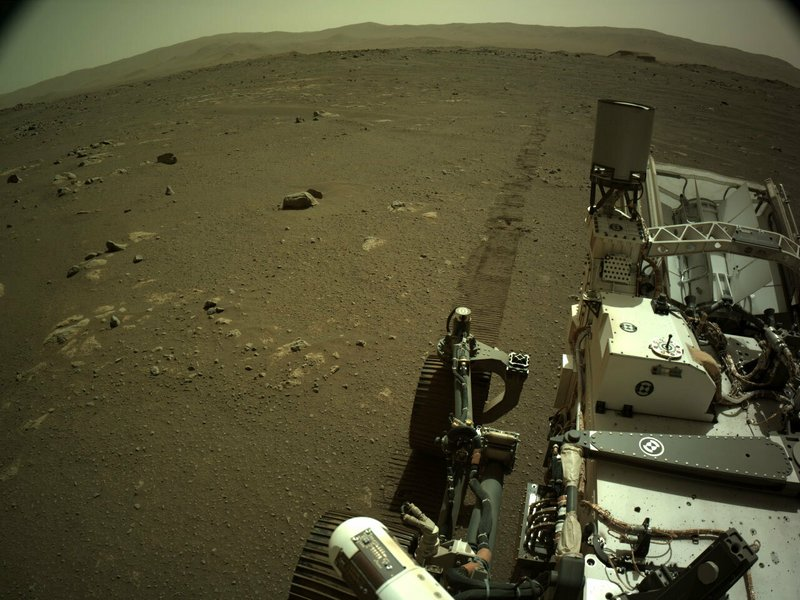 Report from Mars: first-ever sounds of driving on the red planet: grinding, clanking, banging