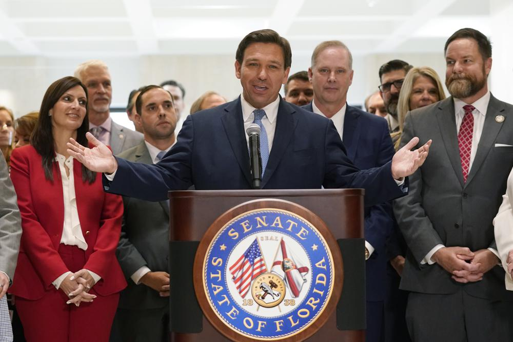 Florida Gov. Ron DeSantis Signs Voting Restrictions Law Live on Fox News