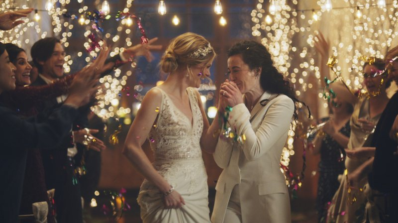 Hallmark reverses decision to pull ad featuring kissing brides