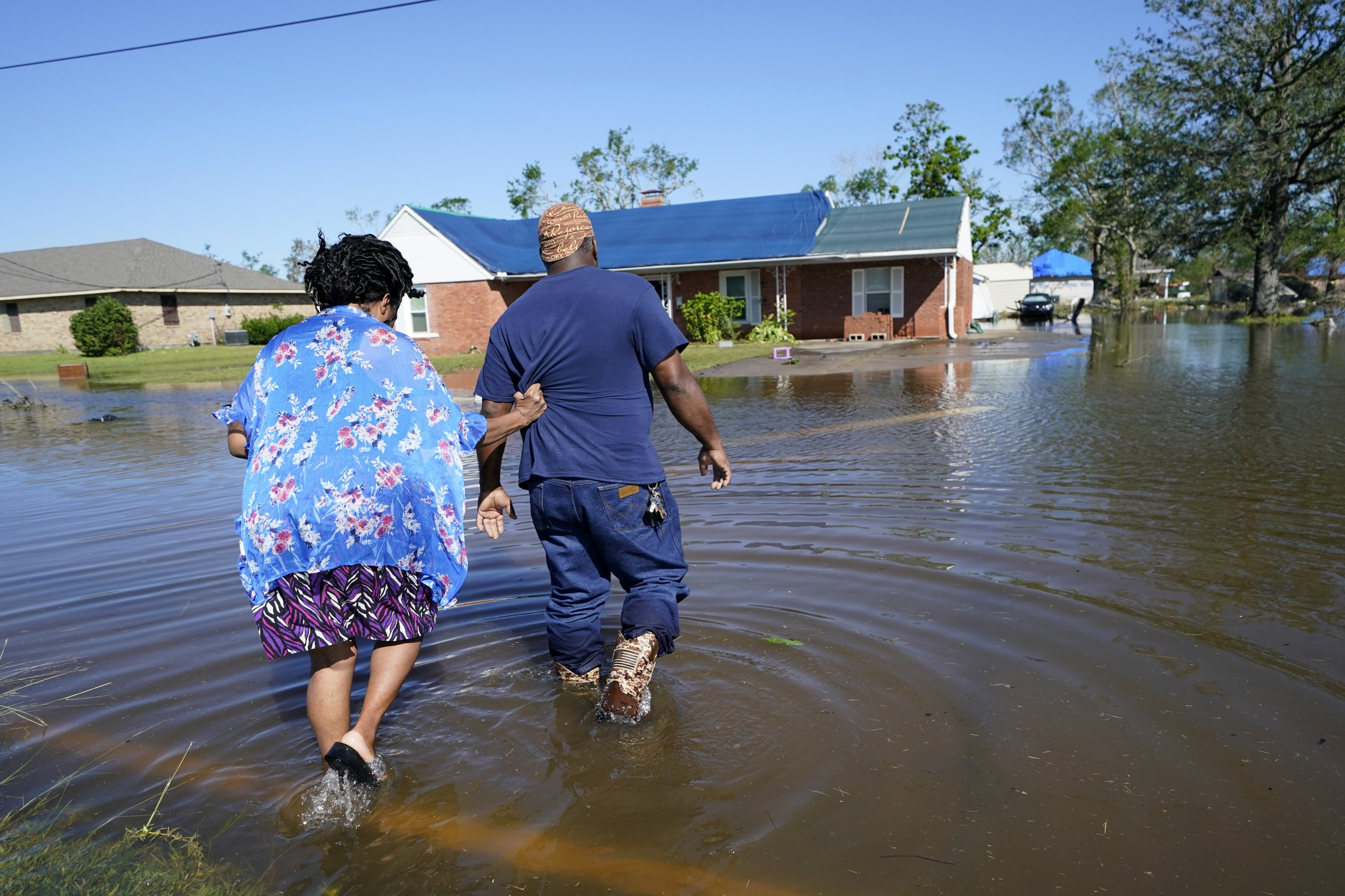 in-hurricaneravaged-louisiana-residents-dig-out-again