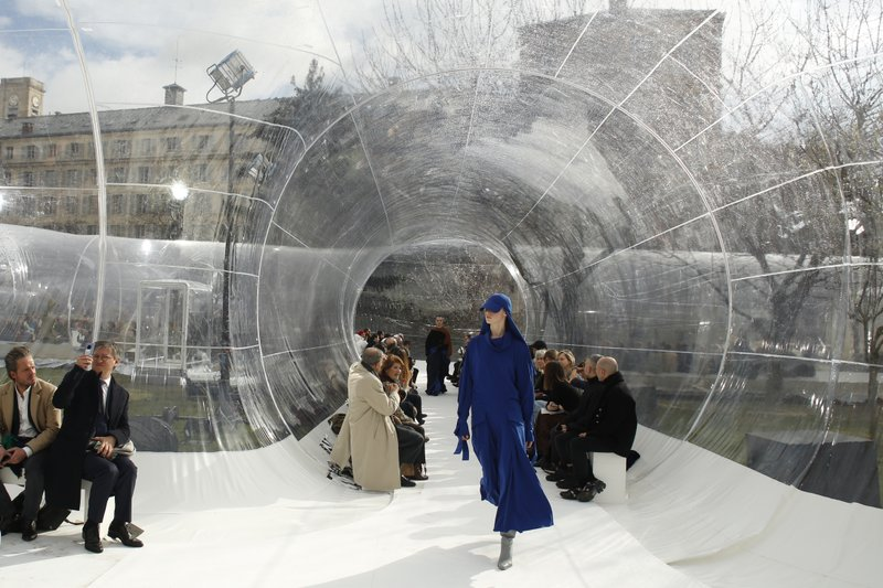 Kenzo Designer Debuts Lanvin Goes Encyclopedic In Paris