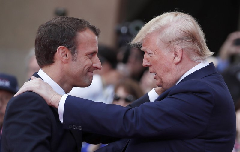 French wine vs US tech prowess: new Trump-Macron standoff