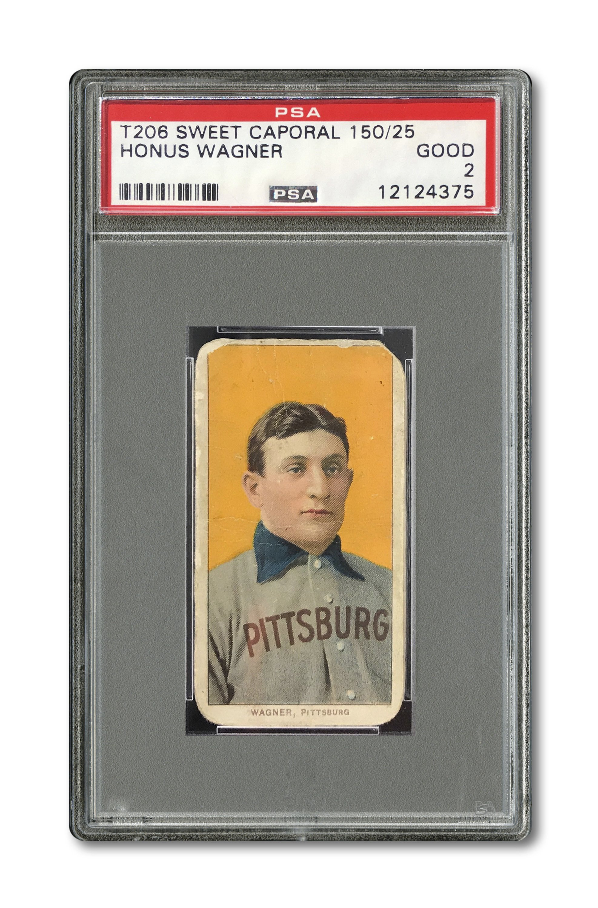 Honus Wagner Baseball Card Sells Privately For 12 Million