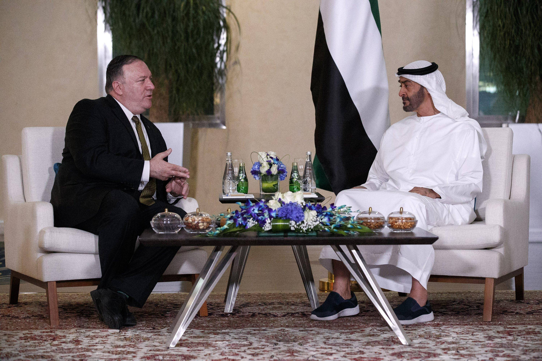 Pompeo arrives in Saudi Arabia as Iran threatens US drones