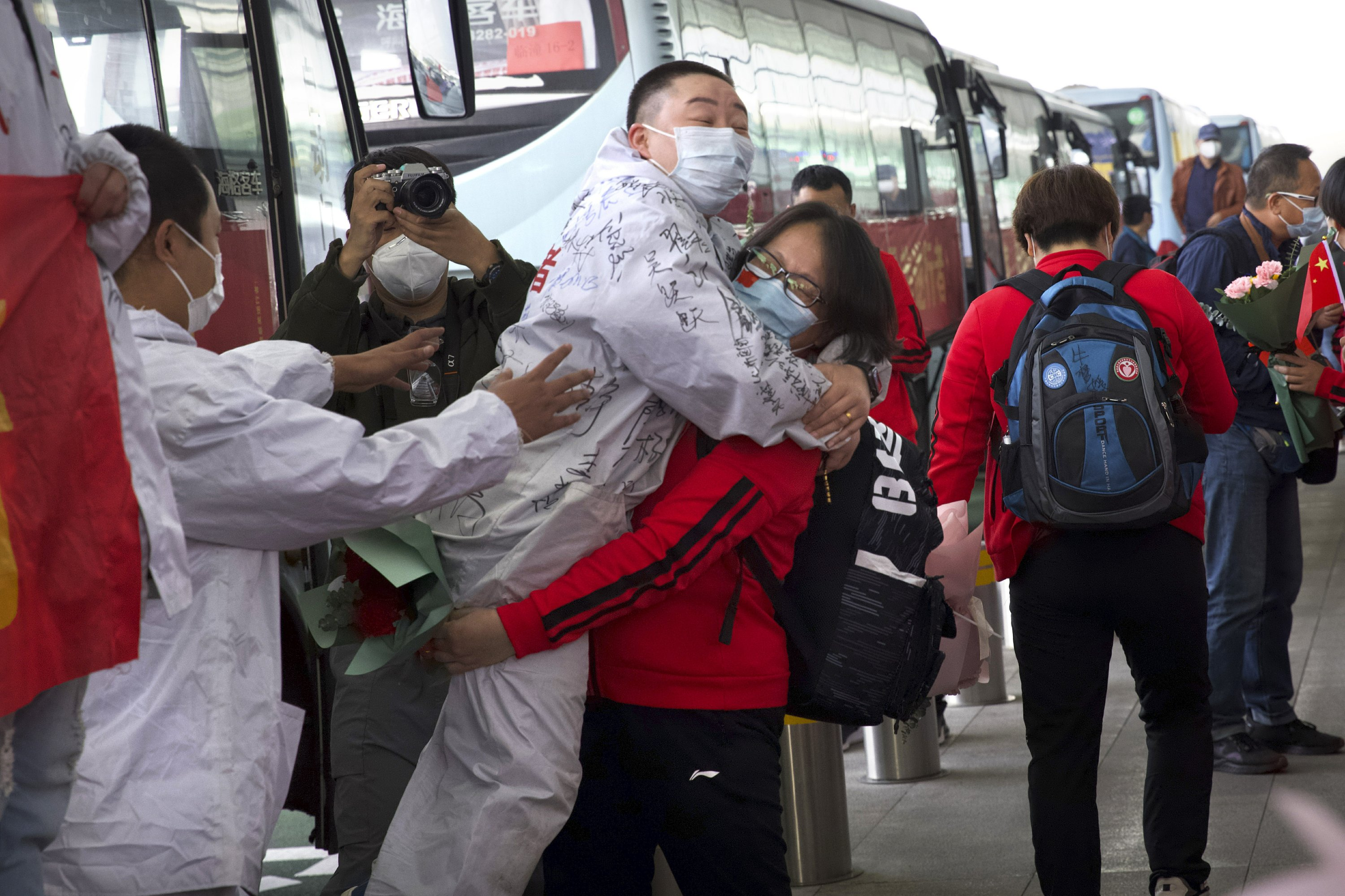 AP PHOTOS: Finding joy amid pandemic's anxiety and heartache
